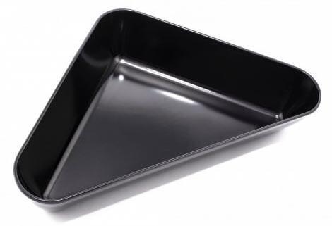 Треугольное блюдо из меламина для выкладки продуктов, 1900 мл, 305 × 254 × 64 мм